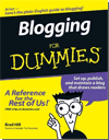 Blogging for Dummies cover